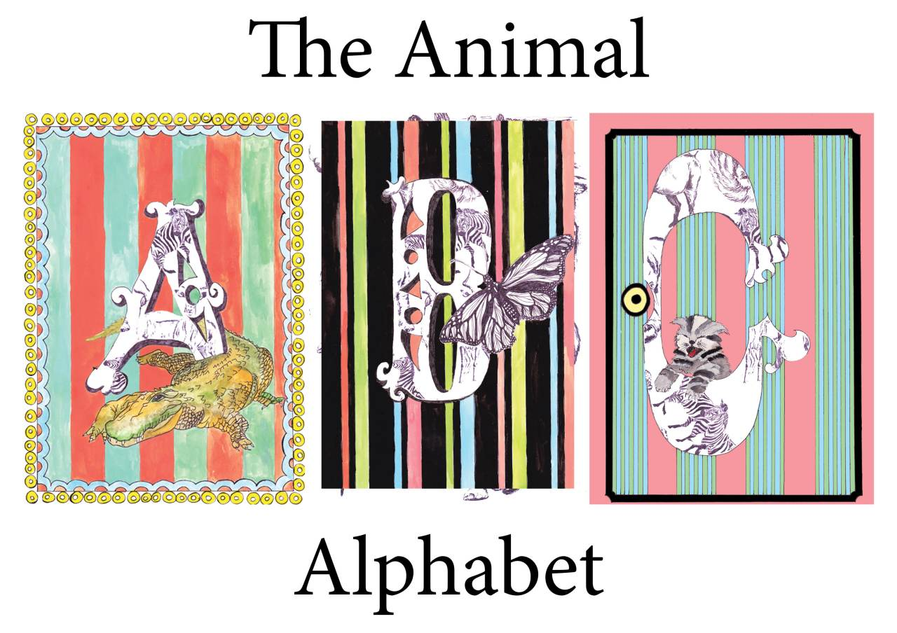 Animal alphabet Cover